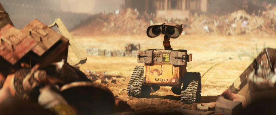 wall-e, мусор